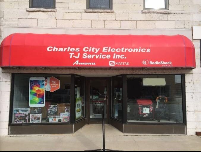 TJ Service Inc. and Charles City Electronics
